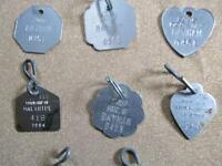 Dog Tags - 1990's and 2000's - 12 Tags