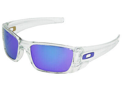 Oakley Fuel Cell Sunglasses OO9096-04 Polished Clear/Violet