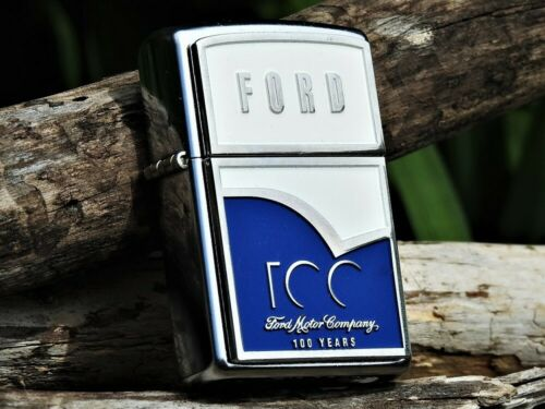 Zippo Lighter - Ford Motor Company - 100 Years Centennial - 100th Anniversary
