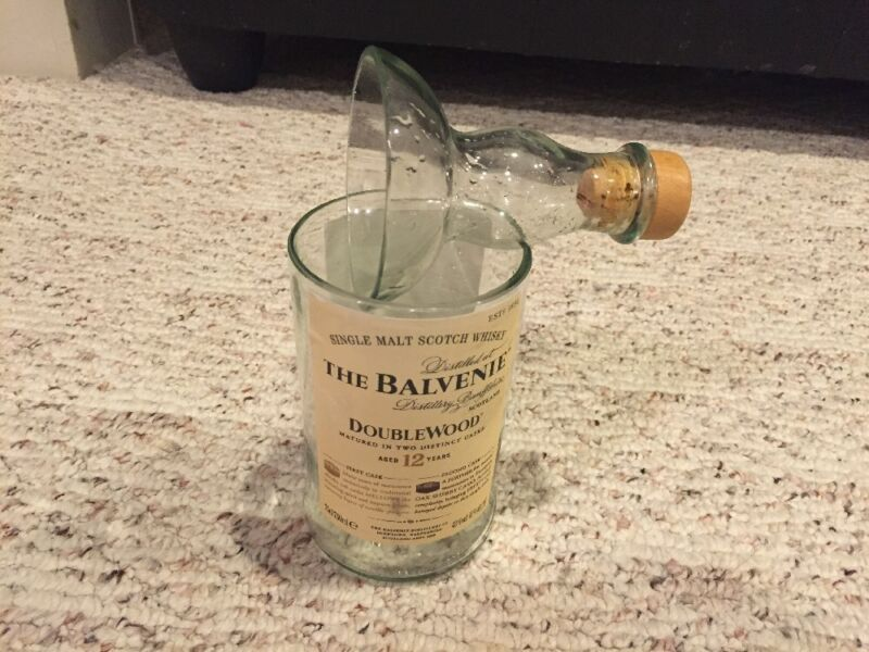 The Balvenie Single Malt Scotch Whisky Glass Tumbler