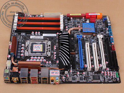 Gebraucht, Original ASUS P6T DELUXE, LGA 1366/Sockel B, Intel X58 Motherboard DDR3 gebraucht kaufen  Versand nach Germany