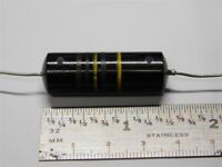 7x .0022uF 1600 V Black Cat Axial//film papier-polyester condensateur Audio DC
