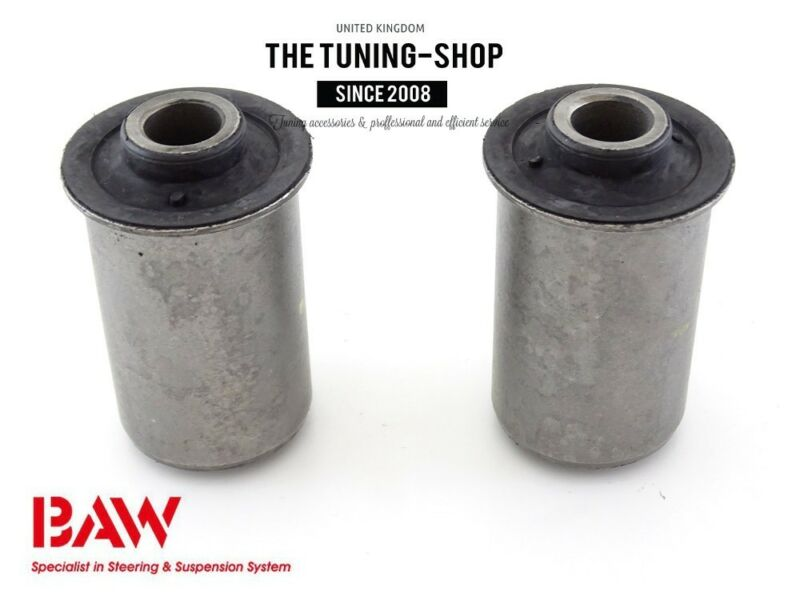 2x Suspension Control Arm Bushing - Front Strut To Arm (Lower) For JEEP LIBERTY