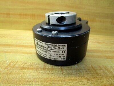 Amicon Ahe 7.5-58-5 Incremental Encoder Ahe75585
