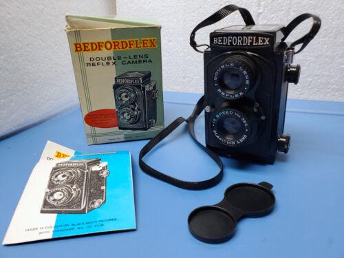 Vintage BEDFORDFLEX Double Lens Reflex TLR Camera 127 Film ~ Color or B&W