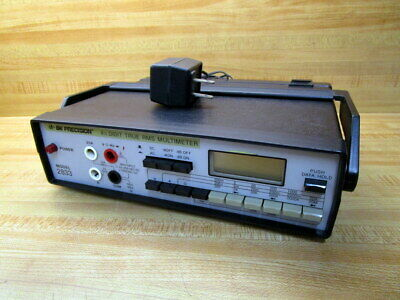 Bk Precision 2833 Rms Multimeter Wadapter