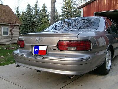 1991-1996 Unpainted Chevrolet Impala SS/Caprice Factory Style Flushmount Spoiler