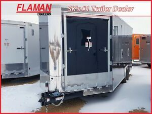 2017 Southland Royal XRARSMT35-826-86 Enclosed Snowmobile Traile