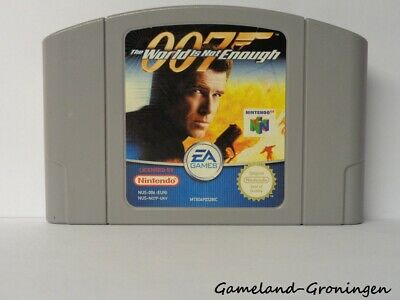 Nintendo 64 / N64 Game: 007 The World is not Enough [PAL] (EUR)