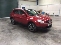 2012 Nissan Quashqai n-tec 1.5dci panoramic roof sat nav guaranteed cheapest in country