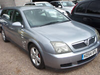 VAUXHALL VECTRA ENERGY (silver) 2004