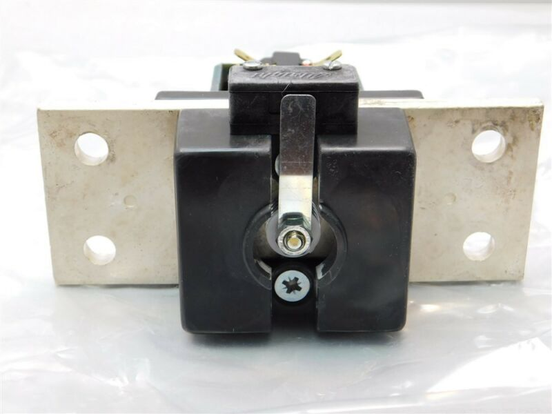 Albright SW500A-8M SPST Normally Open 500A Contactor 60VDC Coil, Buss Bar Mount