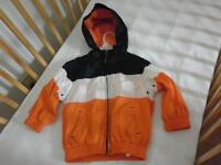 Chandail à capuche bleu et orange Children's Place  4T