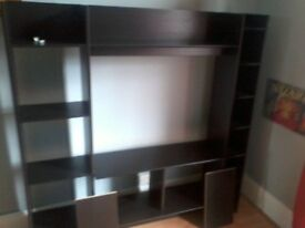 ****Ikea Dark Wood TV Stand / Entertainment Unit £25 REDUCED PRICE ****