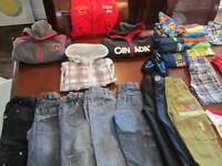 90+ pieces of various Boy Clothes -3T