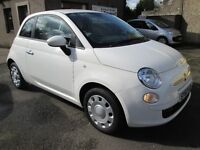 FIAT 500 POP -- PAY AS YOU GO FINANCE AVAILABLE -- (white) 2012