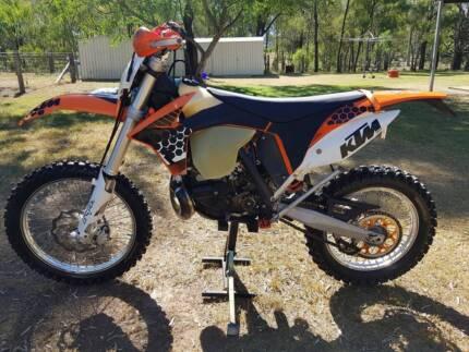 KTM 250 exc 2012