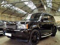 Range Rover Sport 2008 MetallicBlack, Full History, Sat Nav, Sale/Swap