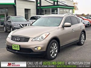 2010 Infiniti EX35 Luxury | Sunroof, Leather Heated Seats, Cruis