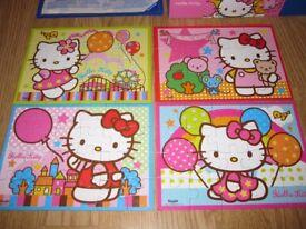 Hello Kitty 4-in-a-box Jigsaw Puzzles (Ravensburger)