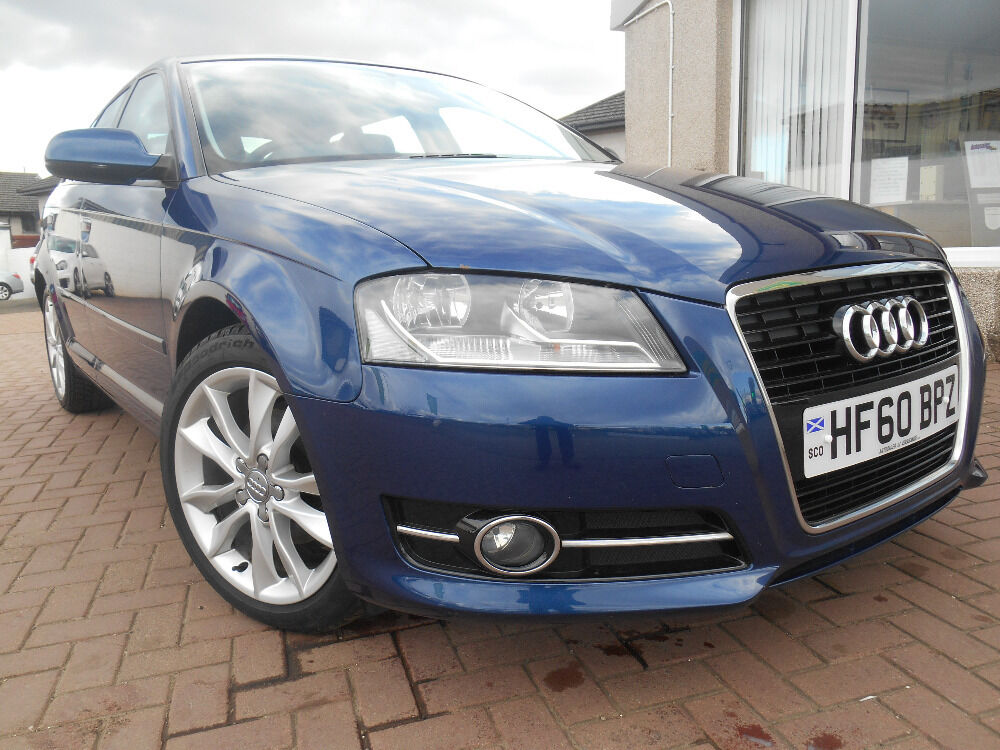 audi a3 sportback tdi sport blue 2010 in kirriemuir angus gumtree. Black Bedroom Furniture Sets. Home Design Ideas