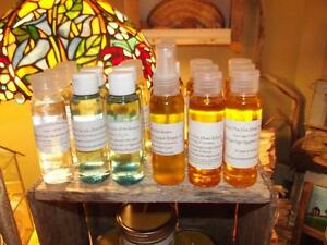 Carrier Oils, Lavender & Calendula, Arnica, Argan Oil