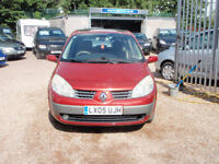 RENAULT SCENIC PRIVILEGE 16V (red) 2005