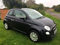 FIAT 500 1.2 Pop, FSH, MOT Oct 2018, Excellent all round (black) 2010