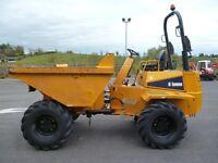 2011 Thwaites 6 ton Dumper with roll bar & lights