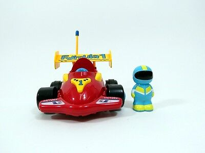 Cartoon Formula 1 RC Race Car Remote Control Xmas Toy for Toddlers Red MC03R