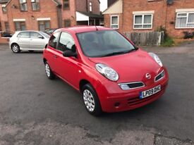 Nissan Micra Visia 1.2 Petrol 2009 12 Months Mot Low Mileage 1 Owner