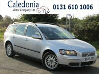 VOLVO V50 S 1.8 ESTATE HEATED SEATS (silver) 2005