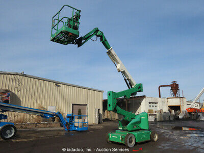 2011 Jlg E400ajpn 40 Electric Articulating Boom Lift Man Aerial Bidadoo