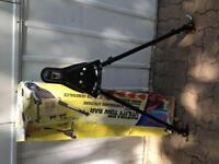 Barre de remorquage réglable - Adjustable towing bar