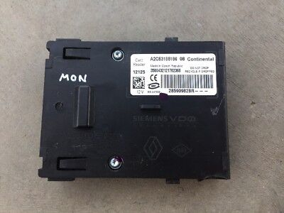 Renault Megane 3 III Key Ignition Keycard Card Reader 285909828R MON