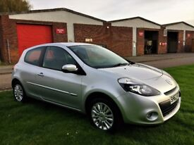 RENAULT CLIO 1.2 Expression, 1 Former Keeper, MOT Oct 2018 (silver) 2012