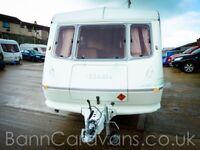 (Ref: 841) Elddis Hurricane GT 2 Berth Free Awning Worth £350!