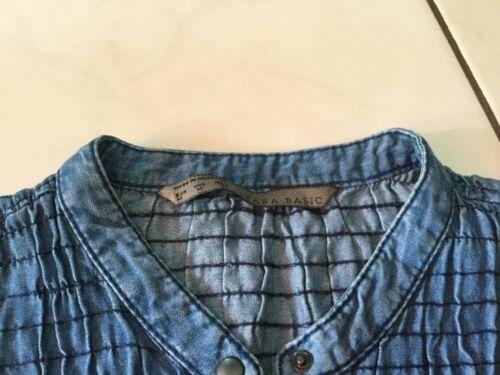 Chemise en jean zara taille m très bon état