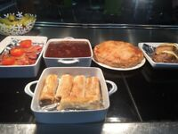 Experienced catering assistant required