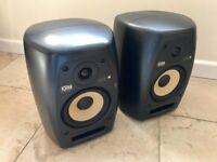 KRK VXT6 Pair Active Studio DJ Monitors Speakers