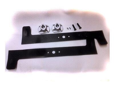 Lawn Mower Knife + Attachment for Honda HF2113 HF2114 82004344 82004345