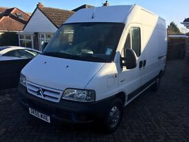 2005 CITROEN RELAY 2.1cc TD HDI MWB - LOW MILEAGE - EXCEL CONDITION - RETIRED BUILDER