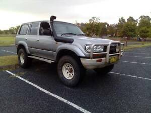 80 SERIES LANDCRUISER. 35'S, DUEL FUEL, 2 INCH LIFT, REGO 27/3/17 Singleton Singleton Area Preview