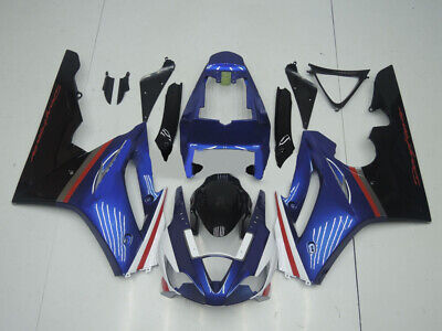 ABS Fairings Body Work Kit fit Triumph Daytona 675 2006-2008 Navy-Blue Bodywork