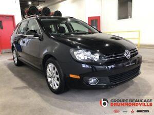 2013 Volkswagen Golf wagon TDI - DIESEL -