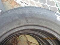 tires all seasons 185 65 15 for 80$