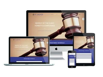 Lawyers Responsive Website Custom Web Design Law Firm Website Mobile