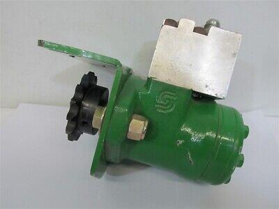 Ag Shield Mfg. Cross Auger Hydraulic Drive Motor Wmount Block Sprocket