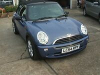 MINI CONVERTIBLE ONE 1.6 CONVERTIBLE (blue) 2004