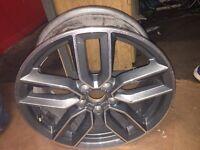"""1x Genuine Audi S3 8v 18"""" 7.5j x 18 2015 Wheel Breaking.."""